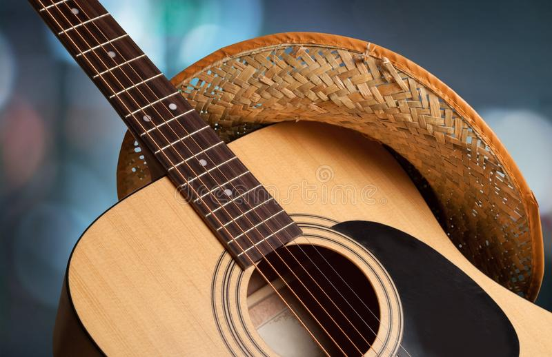 De Muziek van de country muziek stock afbeeldingen