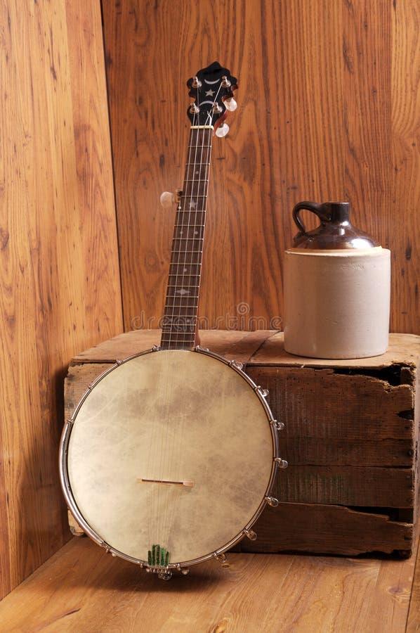 De Muziek van de berg stock fotografie