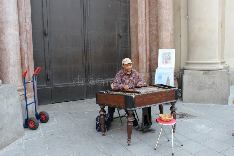 De muziek van de Munchenzomer royalty-vrije stock foto's