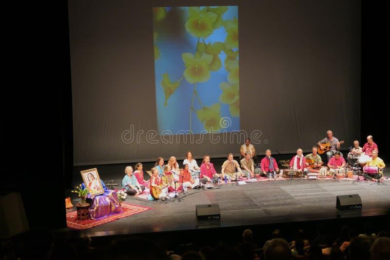 De Muziek van de Sahajayoga van Joy Meditation & Muziekoverleg royalty-vrije stock afbeeldingen
