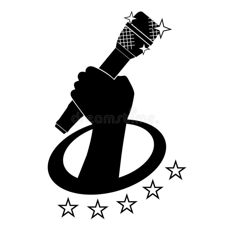 De muziek van de ster royalty-vrije illustratie