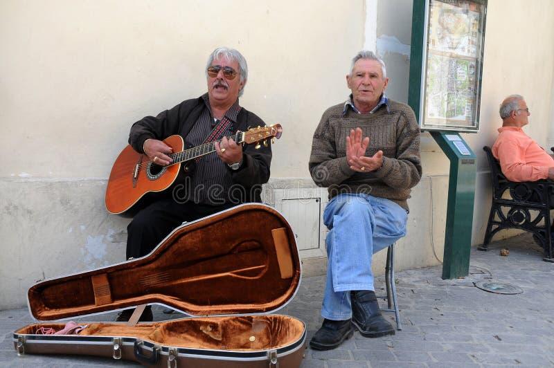 De muziek van de straat stock foto