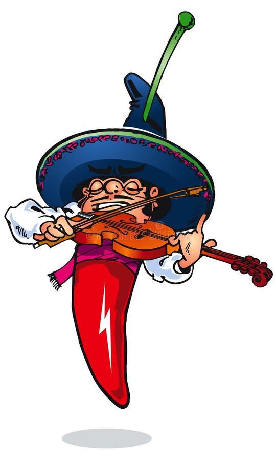 De muziekspeler Rodriguez van Spaanse pepers