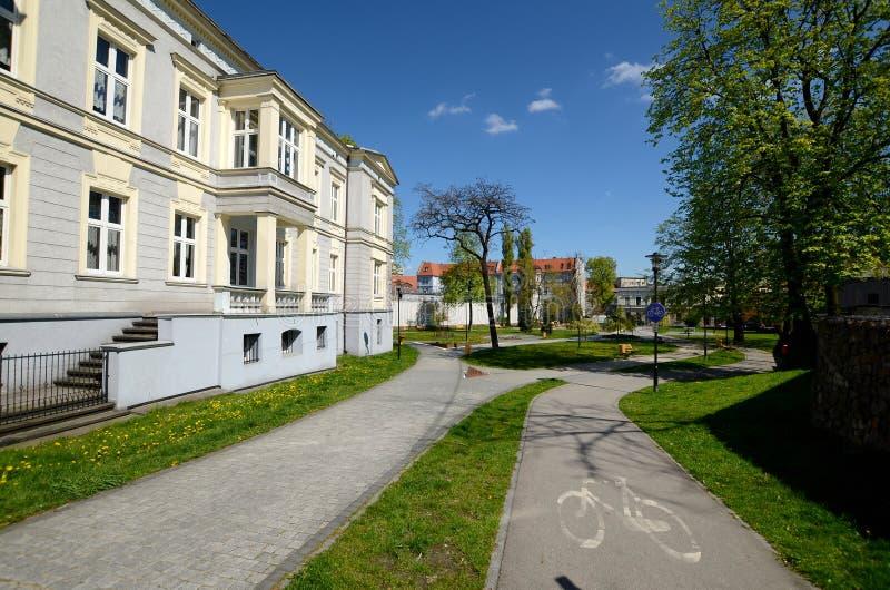 De Muzikale School van de staat in Gliwice, Polen royalty-vrije stock fotografie