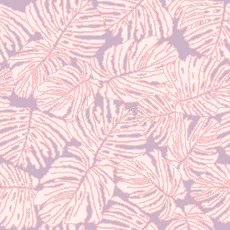 Download De Naadloze Achtergrond Van Bladeren. De Dagachtergrond Van De Valentijnskaart Vector Illustratie - Illustratie bestaande uit zacht, elegant: 29502998