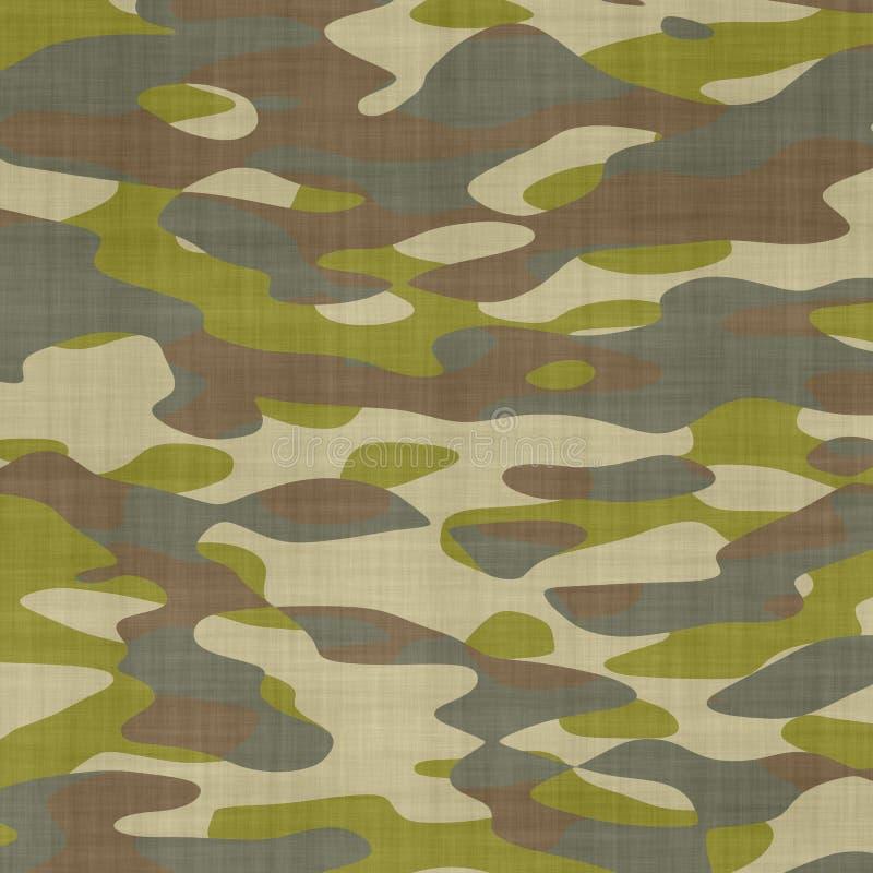 De naadloze Achtergrond van de Camouflage stock foto's