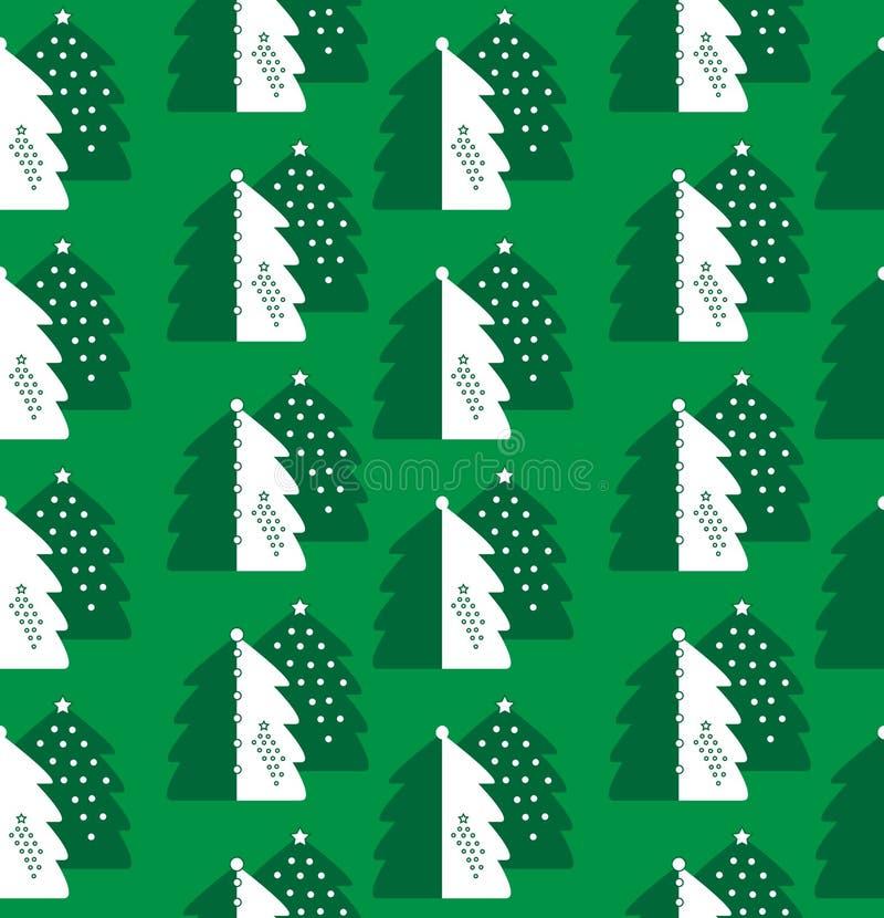 Download De Naadloze Achtergrond Van Kerstmis Vector Illustratie - Illustratie bestaande uit stof, textiel: 10778079