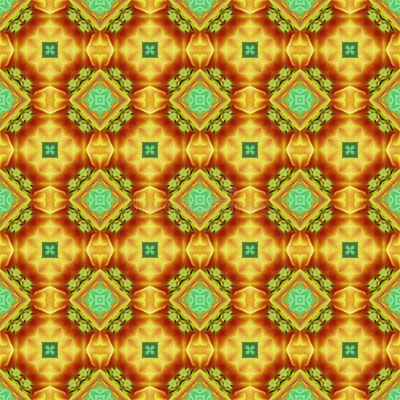 de naadloze bloem herhaalt patroon (3) vector illustratie