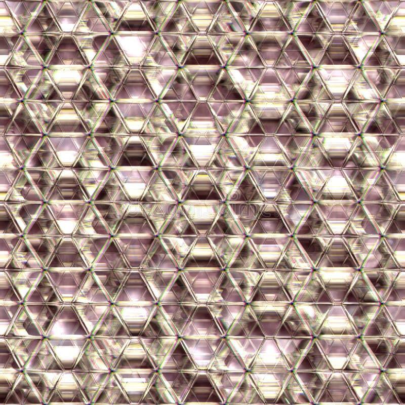 De naadloze crysal achtergrond van het regenboogglas. royalty-vrije stock foto