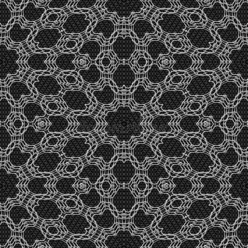 Download De Naadloze Geproduceerde Textuur Van Het Gordijnkant Stock Illustratie - Illustratie bestaande uit samenvatting, brei: 54085825