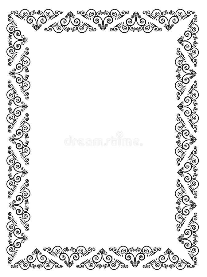 De naadloze gotische achtergrond van de luxe. vector illustratie
