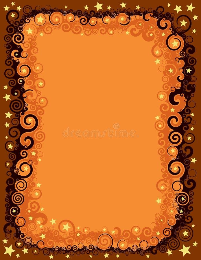 Download De Naadloze Grens Van Dalingshalloween Vector Illustratie - Illustratie bestaande uit whimsical, nave: 39113862