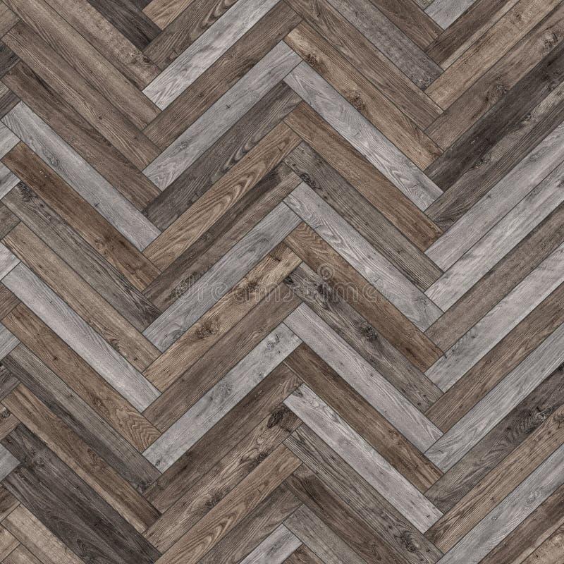 De naadloze houten neutrale visgraat van de parkettextuur royalty-vrije stock afbeeldingen