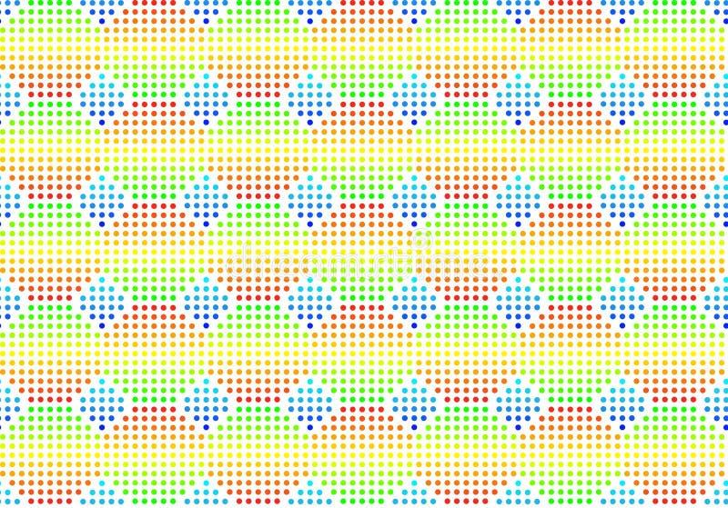 De naadloze multi-coloured achtergrond van het volume royalty-vrije illustratie
