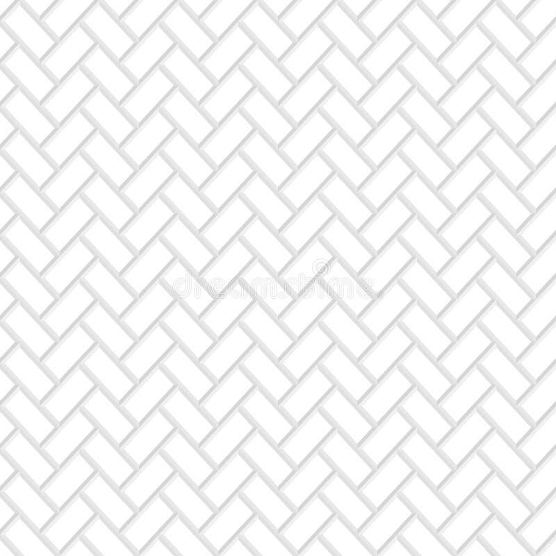 De naadloze textuur van de Baksteen stock illustratie