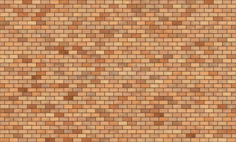 De naadloze textuur van de bakstenen muur hoge resolutie stock fotografie