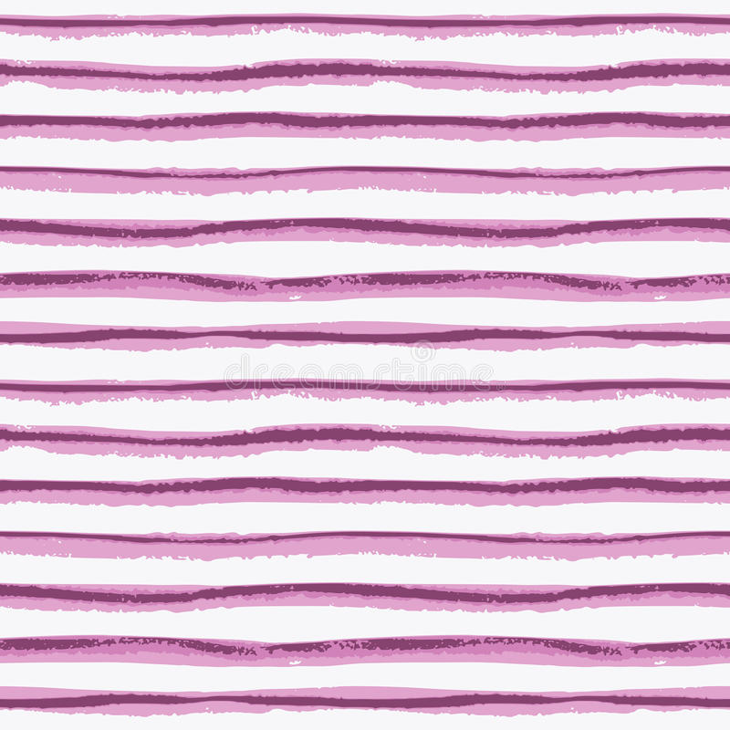 De naadloze textuur van de inkthand getrokken streep vector illustratie