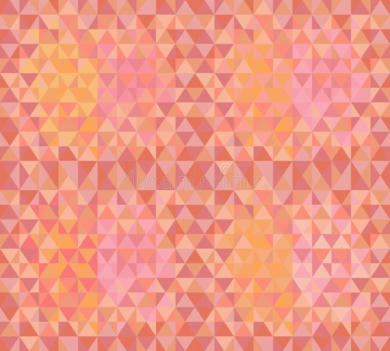De naadloze textuur van de driehoek vector illustratie