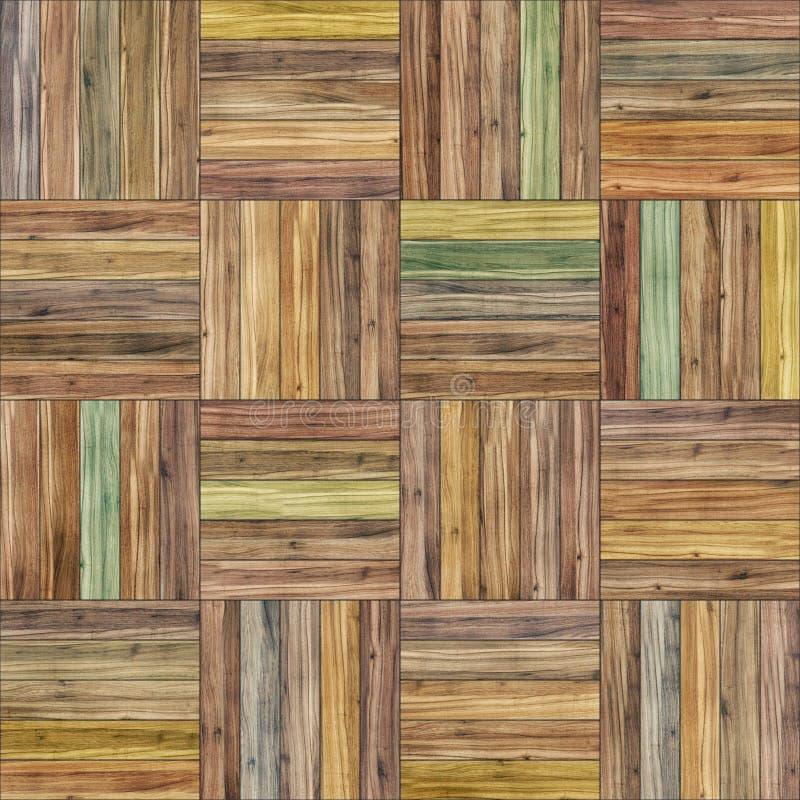 De naadloze textuur van het mandparket royalty-vrije stock afbeelding