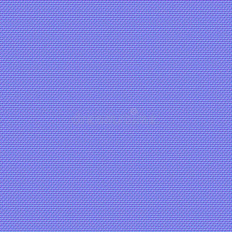 De naadloze textuur van de stof Normale kaart voor 3d texturering vector illustratie