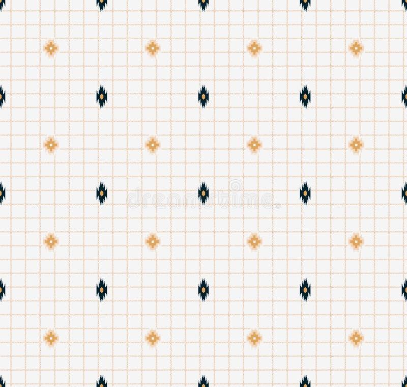 De naadloze traditionele achtergrond van het patodaontwerp vector illustratie