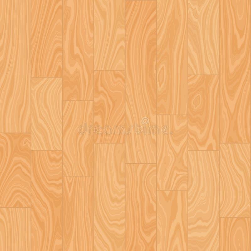 De naadloze vector van de hardhoutvloer stock afbeeldingen