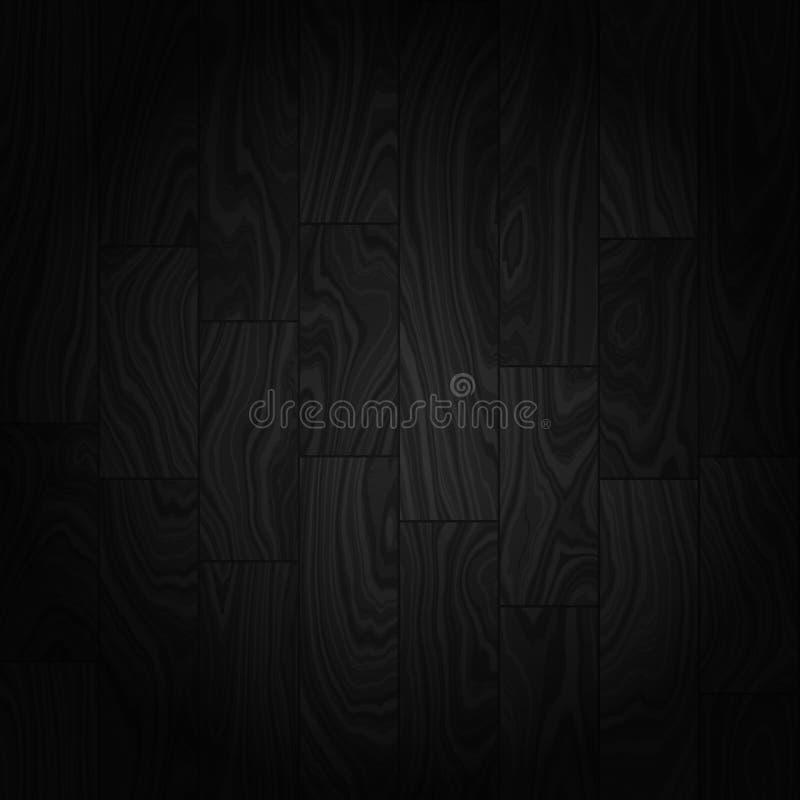 De naadloze vector van de hardhoutvloer royalty-vrije stock afbeeldingen