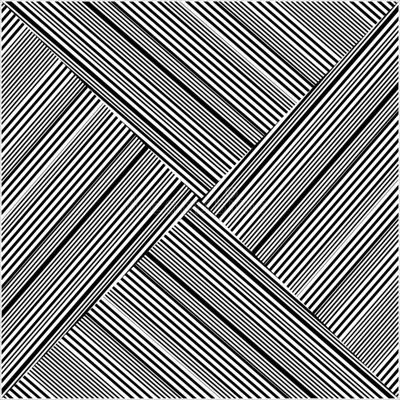 De naadloze Vector van het Strepenpatroon stock illustratie