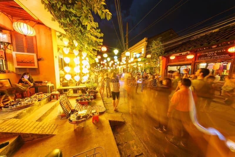 De nacht ontsproot van Hoi vietnam royalty-vrije stock fotografie