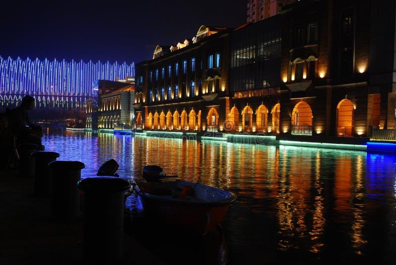 De nacht van BO Lin stock fotografie