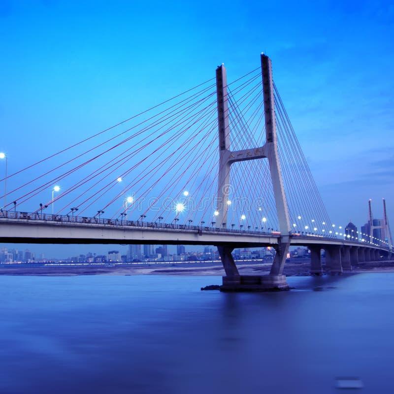 De Nacht van de brug royalty-vrije stock afbeeldingen
