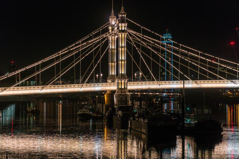 De nacht van Londen royalty-vrije stock fotografie