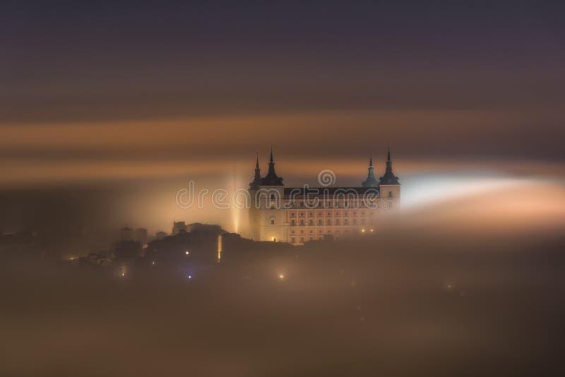 De nacht van de mysticus royalty-vrije stock foto