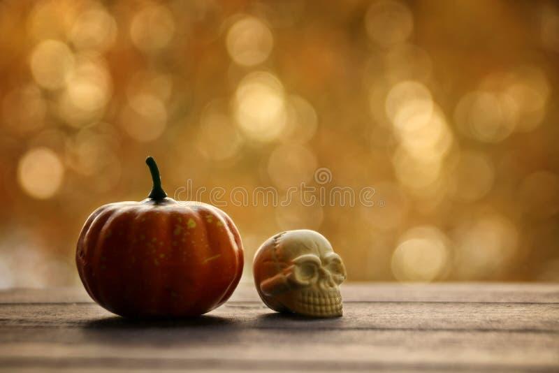 De nacht van oktober 31ste Halloween op de vooravond van Al Heiligendag stock fotografie