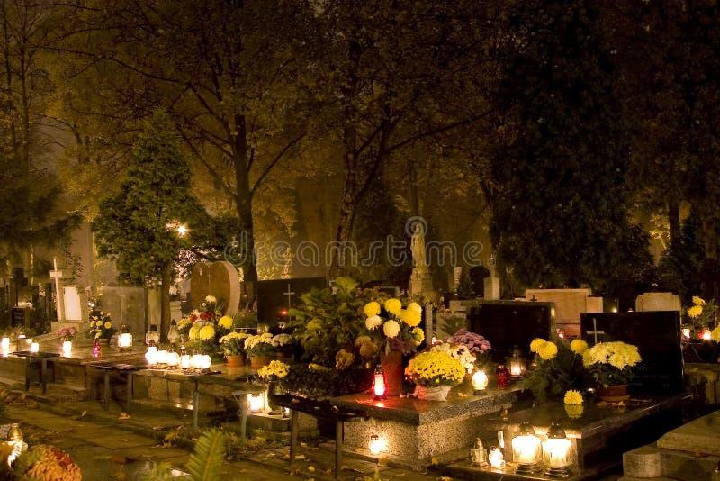 De nacht van Samhain royalty-vrije stock fotografie