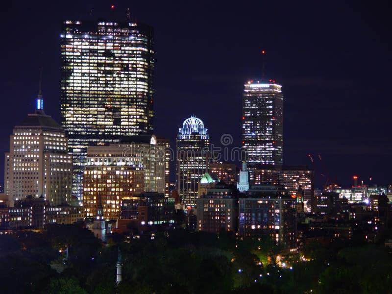 De Nachten van de stad stock foto's
