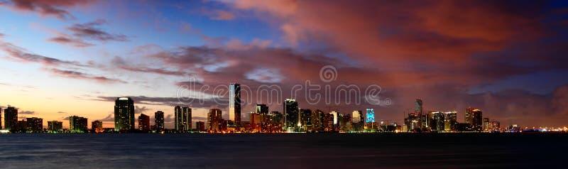 De Nachten van Miami stock afbeelding