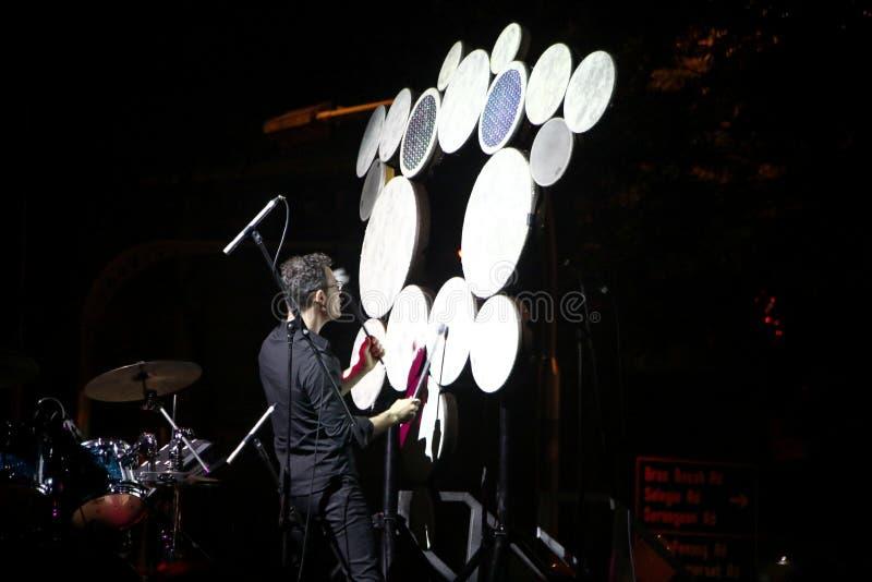 De Nachtfestival 2014 van Singapore stock fotografie