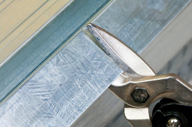 De nagelknipsel van het metaal stock fotografie