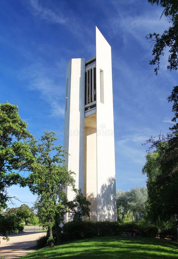 De Nationale Carillon in Canberra, Australië stock foto