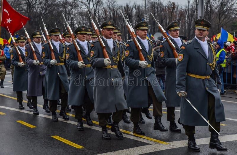 De Nationale Dag van Roemenië, het leger van Duitsland royalty-vrije stock fotografie