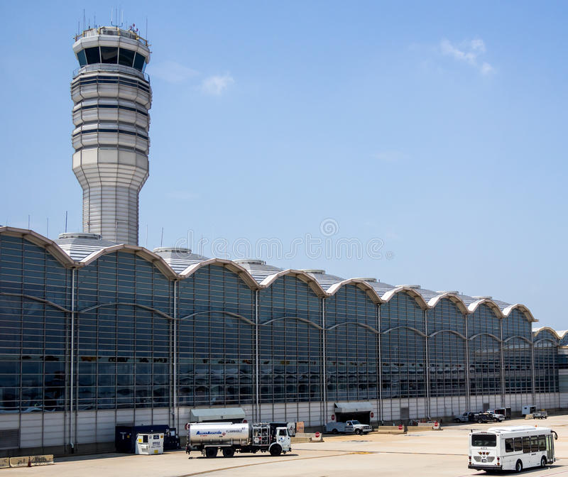 De Nationale Luchthaven van Reagan royalty-vrije stock foto