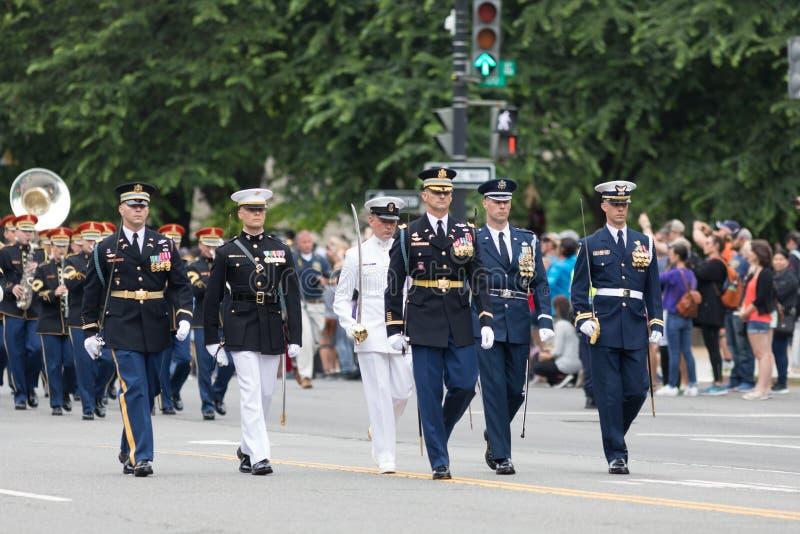 De Nationale Memorial Day -Parade royalty-vrije stock fotografie
