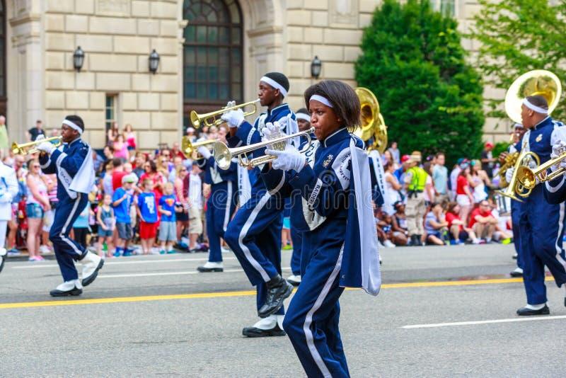 De nationale Parade 2015 van de Onafhankelijkheidsdag stock afbeeldingen