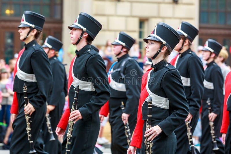 De nationale Parade 2015 van de Onafhankelijkheidsdag stock foto