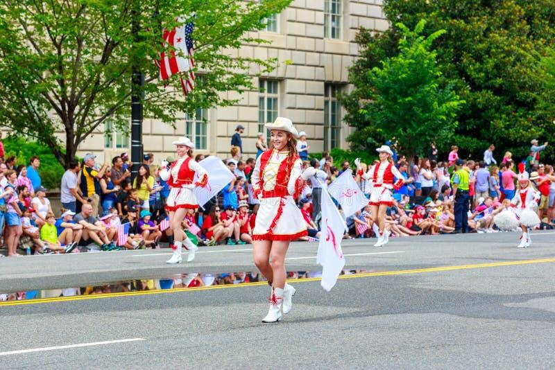 De nationale Parade 2015 van de Onafhankelijkheidsdag stock afbeelding