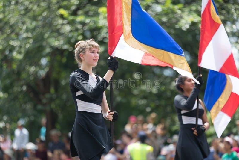 De nationale Parade 2018 van de Onafhankelijkheidsdag royalty-vrije stock fotografie