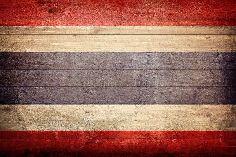 De Nationale Vlag van Thailand stock afbeeldingen