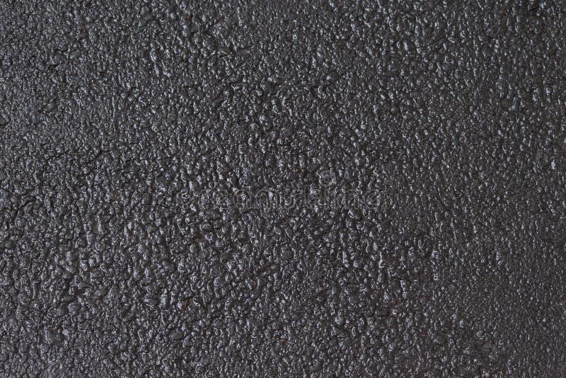 De natte Achtergrond van het Asfalt Weg donkere grijze textuur stock afbeeldingen