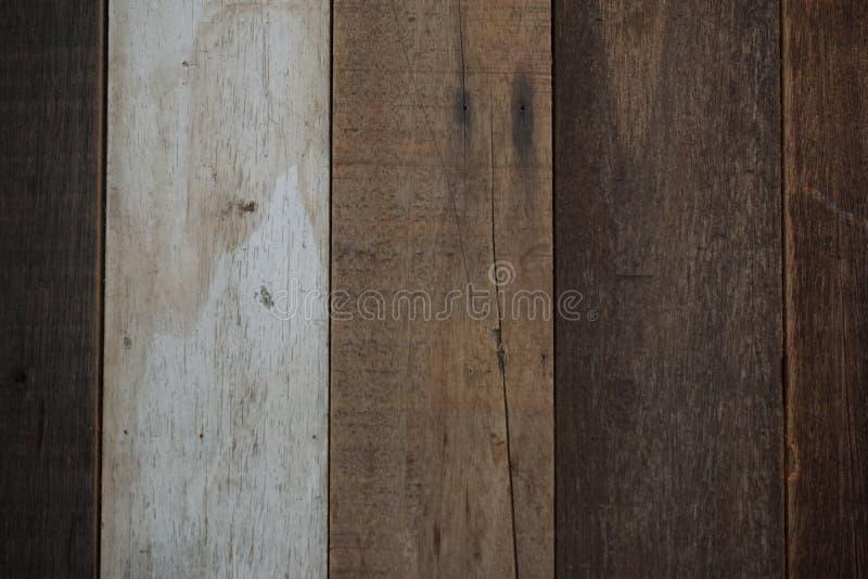 De natuurlijke antieke houten achtergrond van de raadstextuur stock foto's